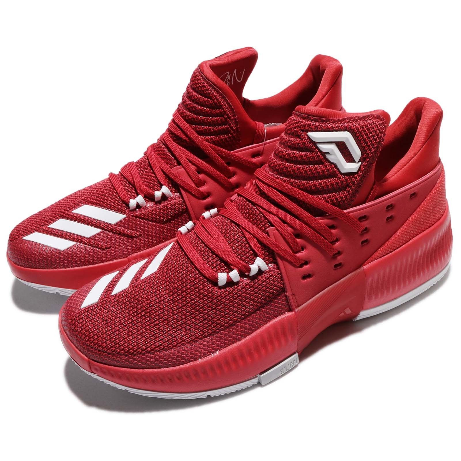 adidas Dame 3 Damian Lillard Power Red Men Basketball Shoes Sneakers BY3192