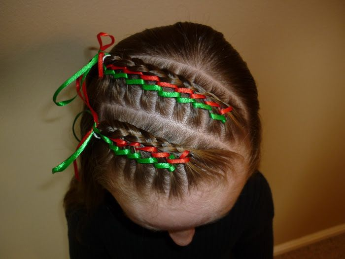 Tiny French Braids - Baby Hairstyles #crazyhairdayatschoolforgirlseasy