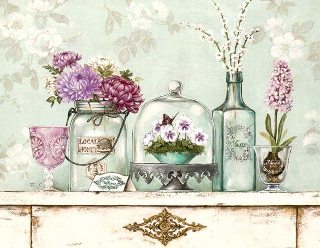 Pin de rabab alalawi en decoupage paper pinterest laminas cuadros vintage y decoupage - Laminas decorativas pared ...