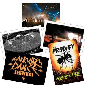 Buy Online The Prodigy - The Prodigy World's On Fire Postcard Set