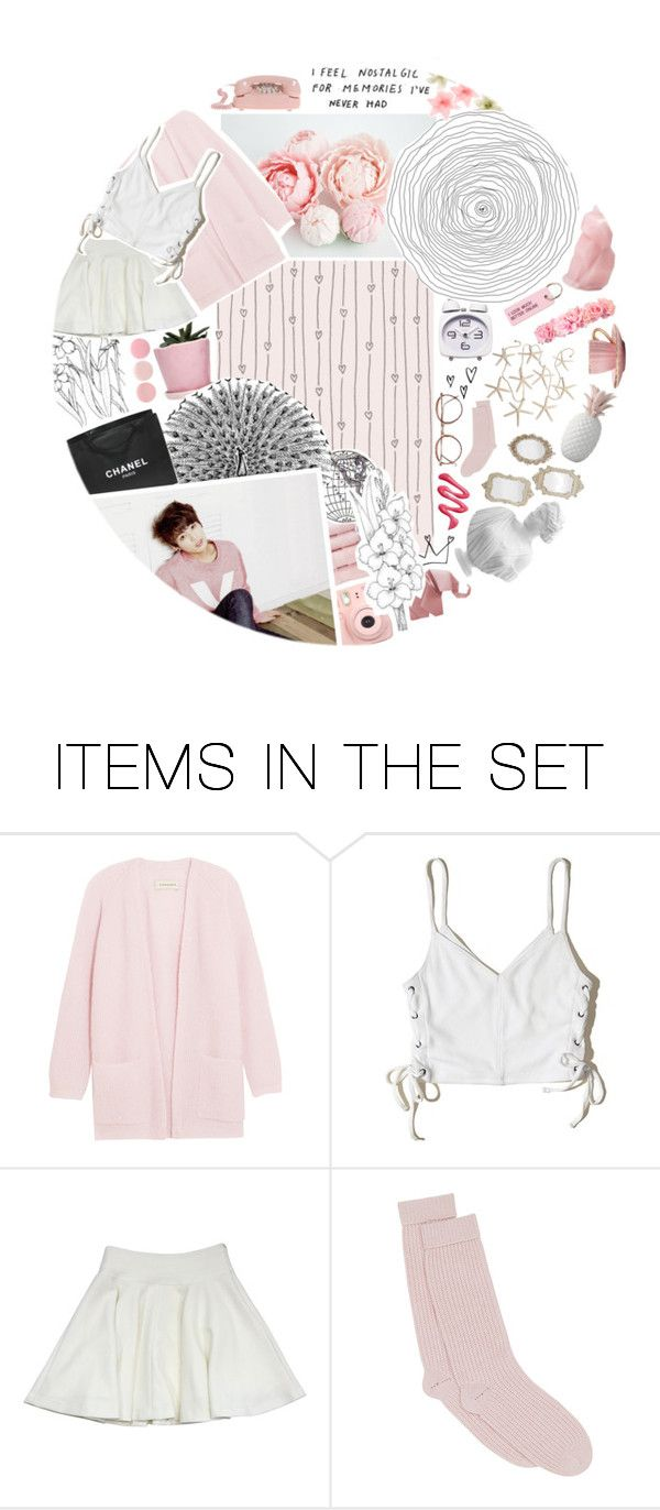 """""""Memories are crumbling like dried flower leaves On my fingertips and under my feet"""" by trxpped-in-insxnity ❤ liked on Polyvore featuring art, jungkook and goldenmaknae"""