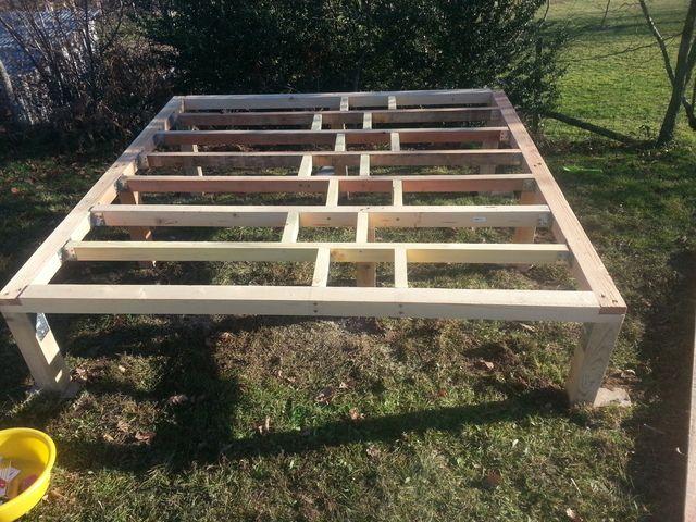 Construction d 39 une cabane en bois pour mes enfants 54 messages cabane - Construire maisonnette en bois ...