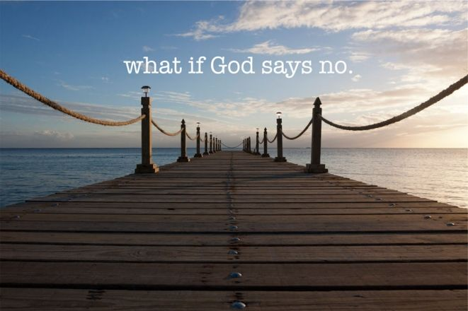 Image result for god says no