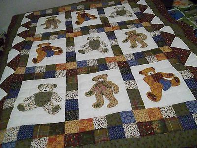 Electronics Cars Fashion Collectibles Coupons And More Ebay Bear Quilts Quilts Childrens Quilts