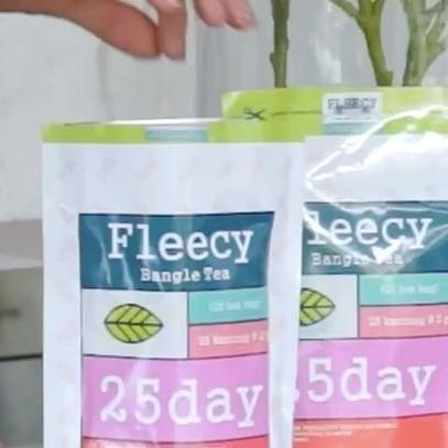 @inijedar: Aku udah turun 7 Kilo minum fleecy bangle tea dari @flawsome_tipscantik . pagi 1