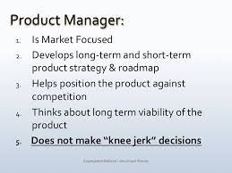 Image Result For Product Manager Job Description