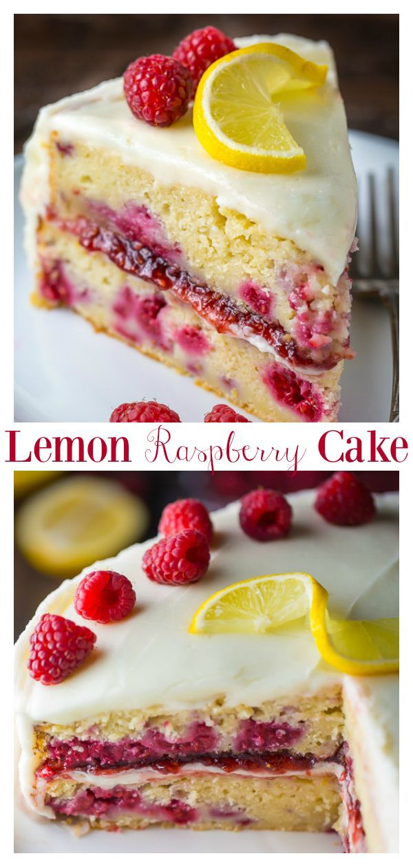 Lemon Raspberry Cake - The BEST Lemon Raspberry Cake Recipe