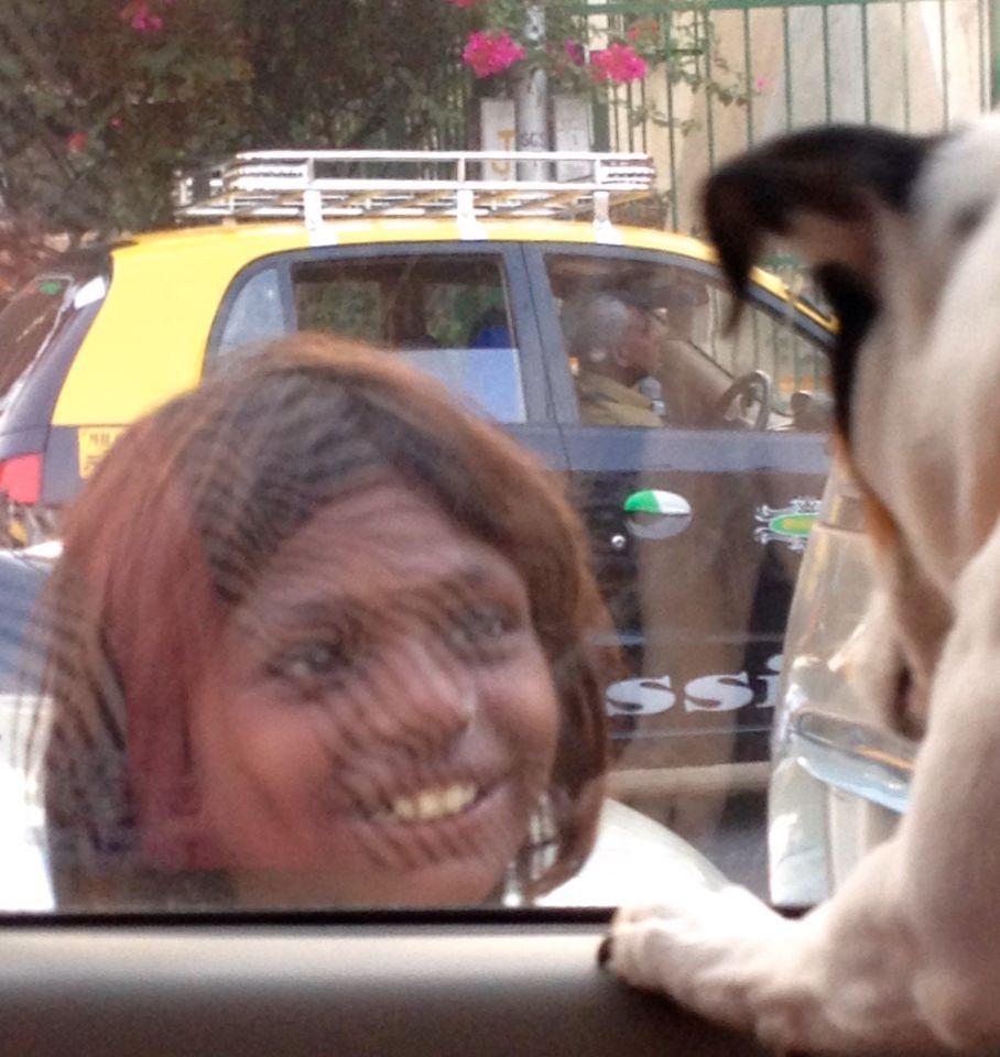 Street Mumbai girl