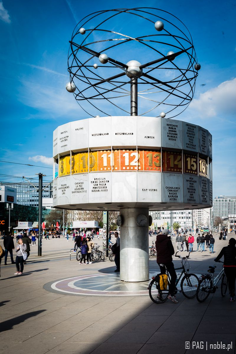 Weltzeituhr World Clock On Alexanderplatz In Berlin Germany Germany Europe Travel Berlin