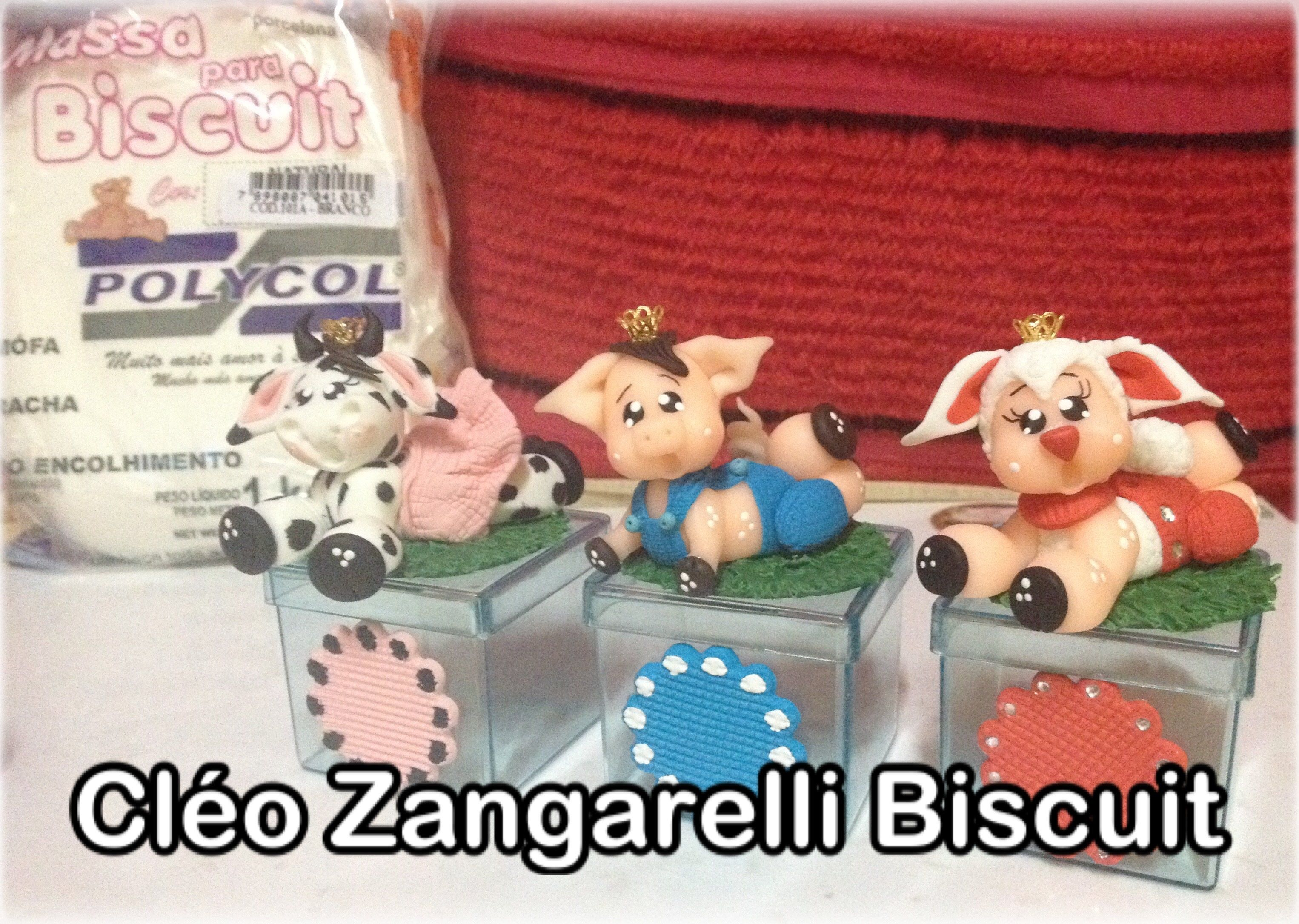 Diy Biscuit Bichinhos Estilo Fazendinha Porquinha E Ovelha