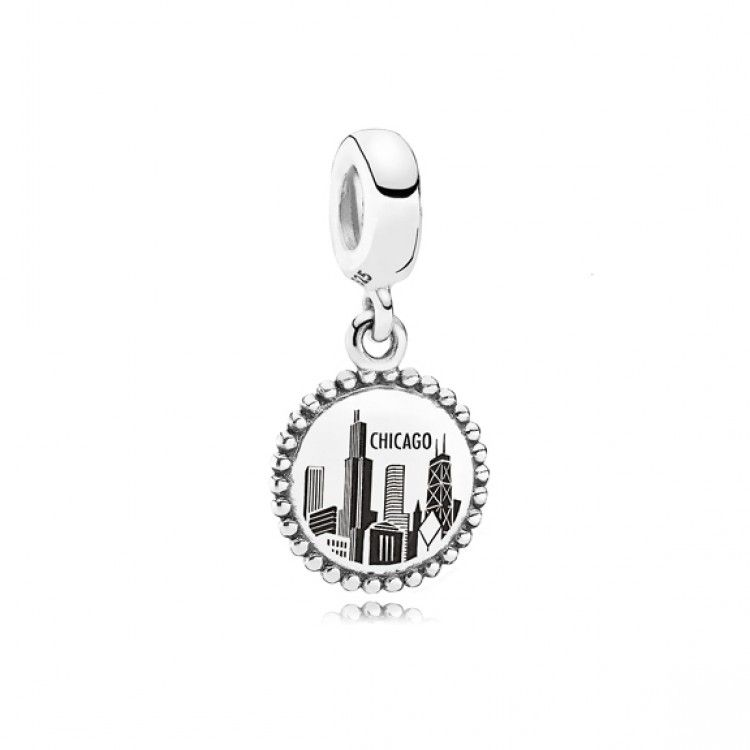 a3819d545 Chicago Charm | PANDORA in 2019 | Pandora jewelry, Pandora travel ...