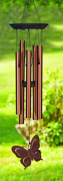 Butterfly Chime From Woodstock Chimes The Original Precision Tuned High Quality Windchime 31 50 Woodstock Chimes Butterfly Wind Chime Wind Chimes
