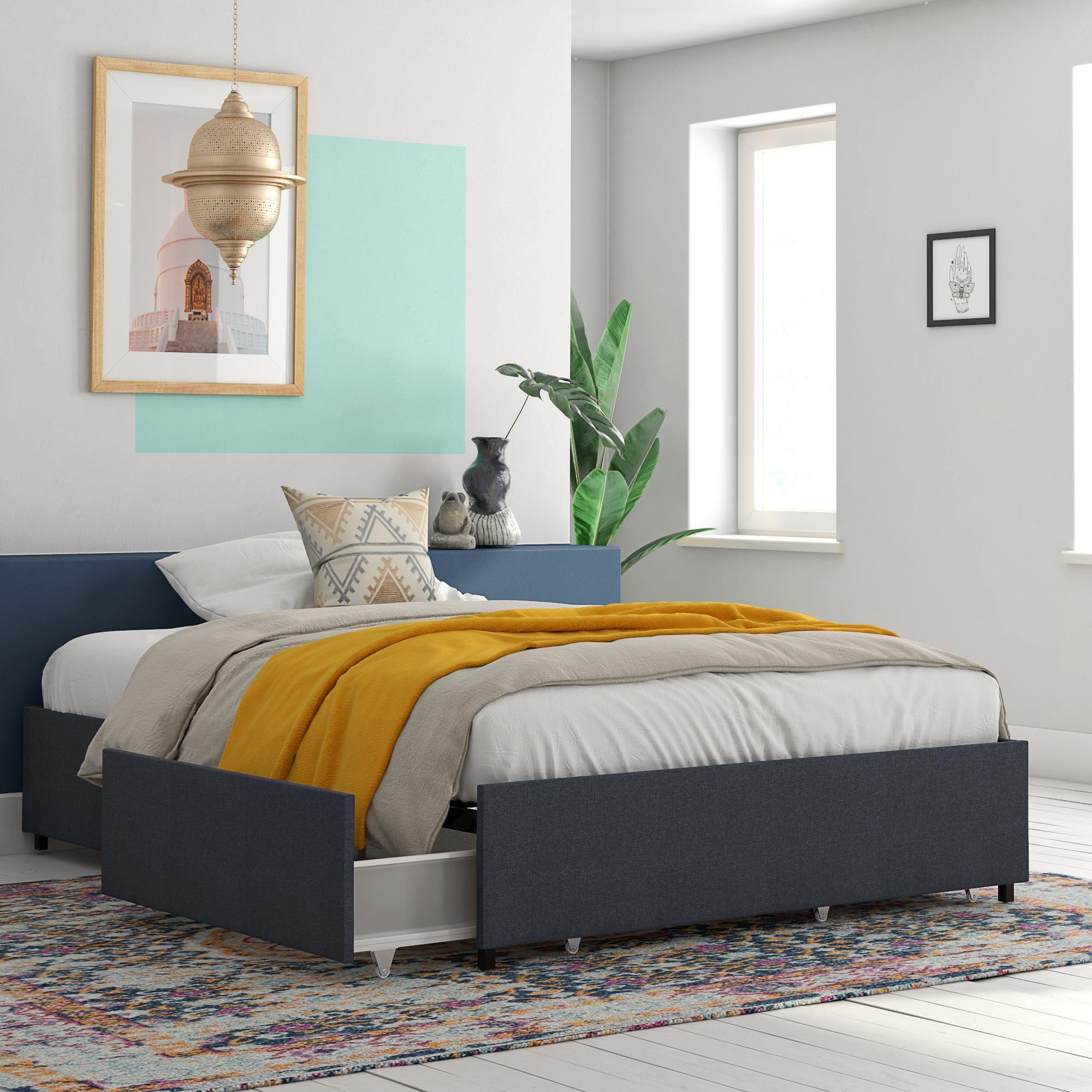 Home Platform Bed With Storage Bed Storage Drawers Storage Bed
