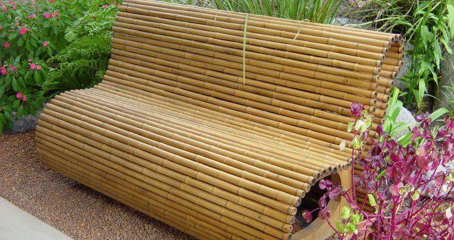 15+ Hermosas Ideas para Decorar con Bambú - decoracion con bambu