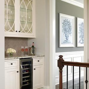 Bria Hammel Interiors Kitchens Bar Ideas Home Mullion Cabinets Kitchen Eclipse Trim