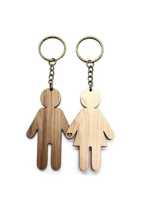Craft Wooden Keyrings