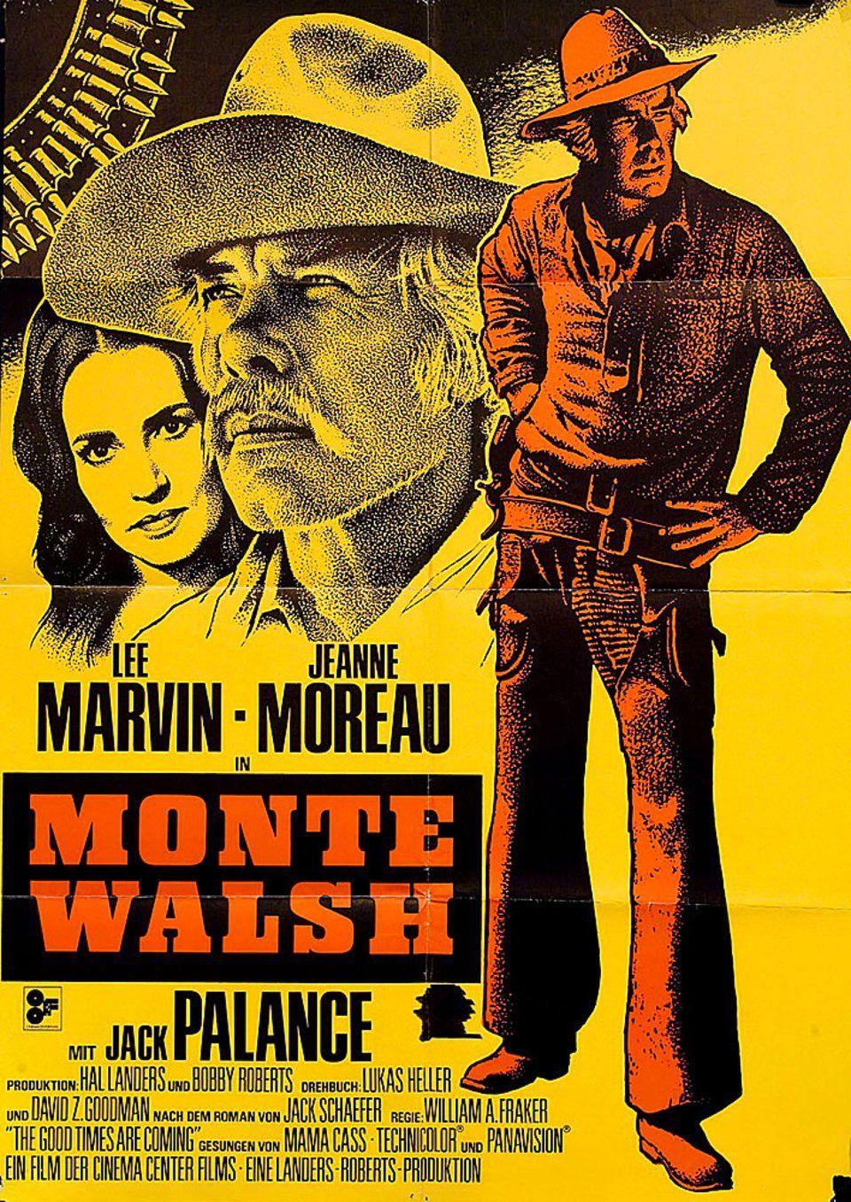 Monte walsh 1970 original germany a1 movie poster william