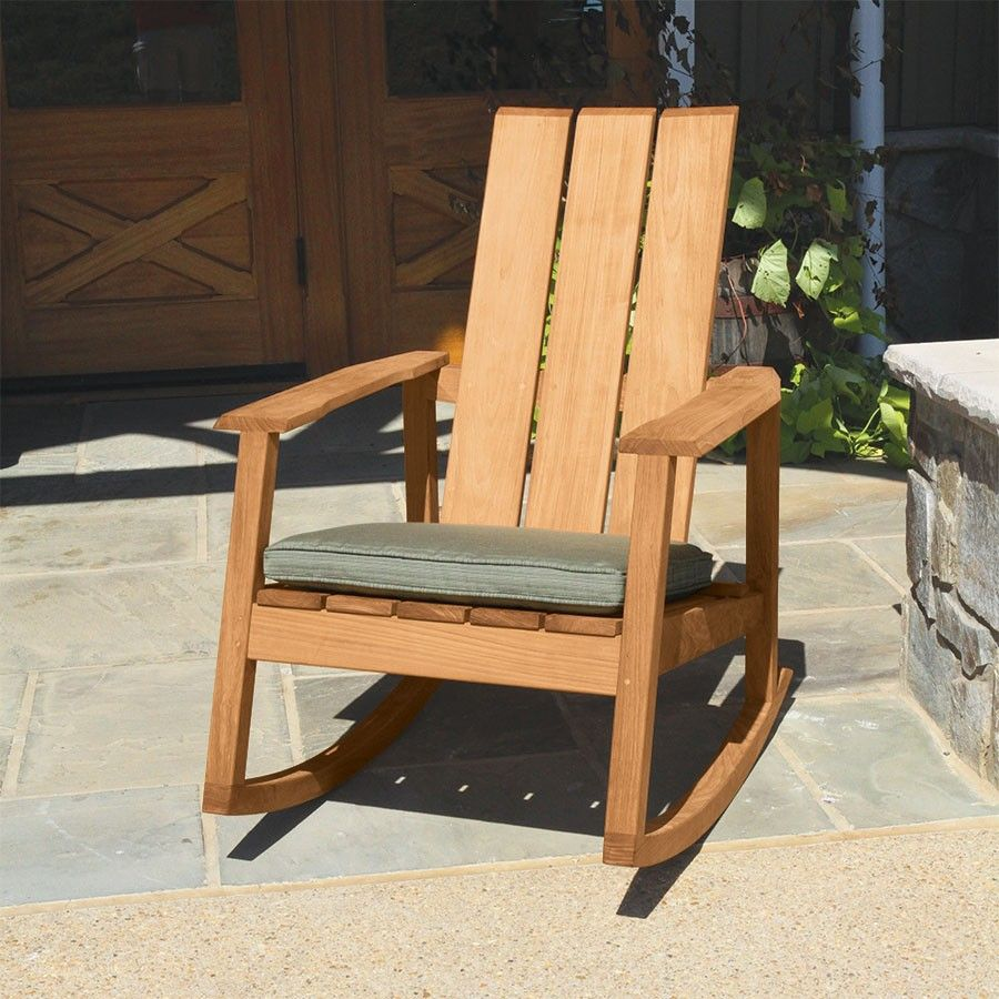 Teak Outdoor Chairs Aspen Adirondack Chair Country Casual Teak