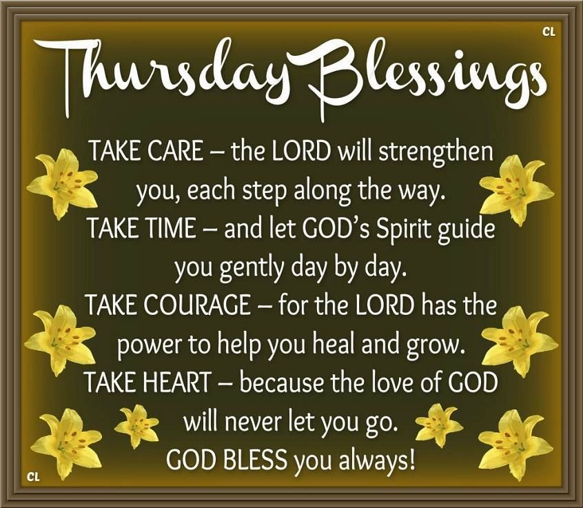 Thursday Blessings Thursday Thursday Quotes Happy Thursday Thursday