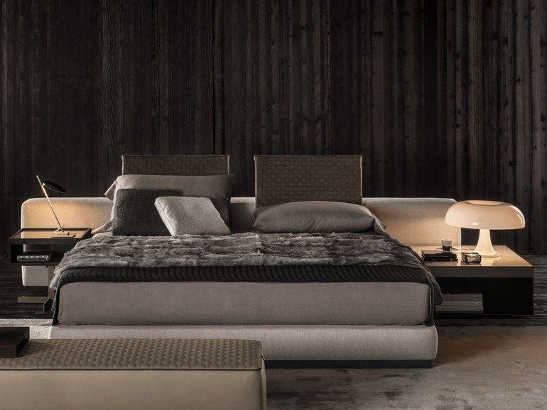 Minotti Camere Da Letto.Bed Yang Bed Minotti Furniture Brand Minotti Modern Bedroom