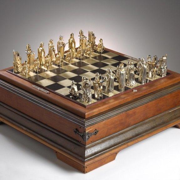 Gold Chess Set (No.1 of 12) Circa 1972