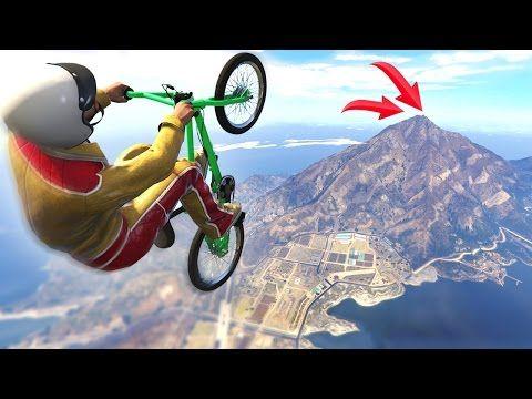 Longest Gta Car Jump Ever Gta 5 Funny Moments Youtube