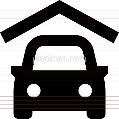 Parking Garage Vector Icon Vector Icons Vector Car Vector