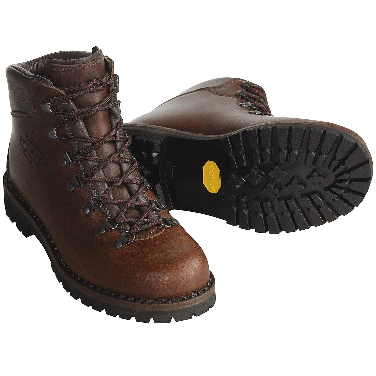 Alico Tahoe Hiking Boots - Leather (For Men) | Brown leather ...