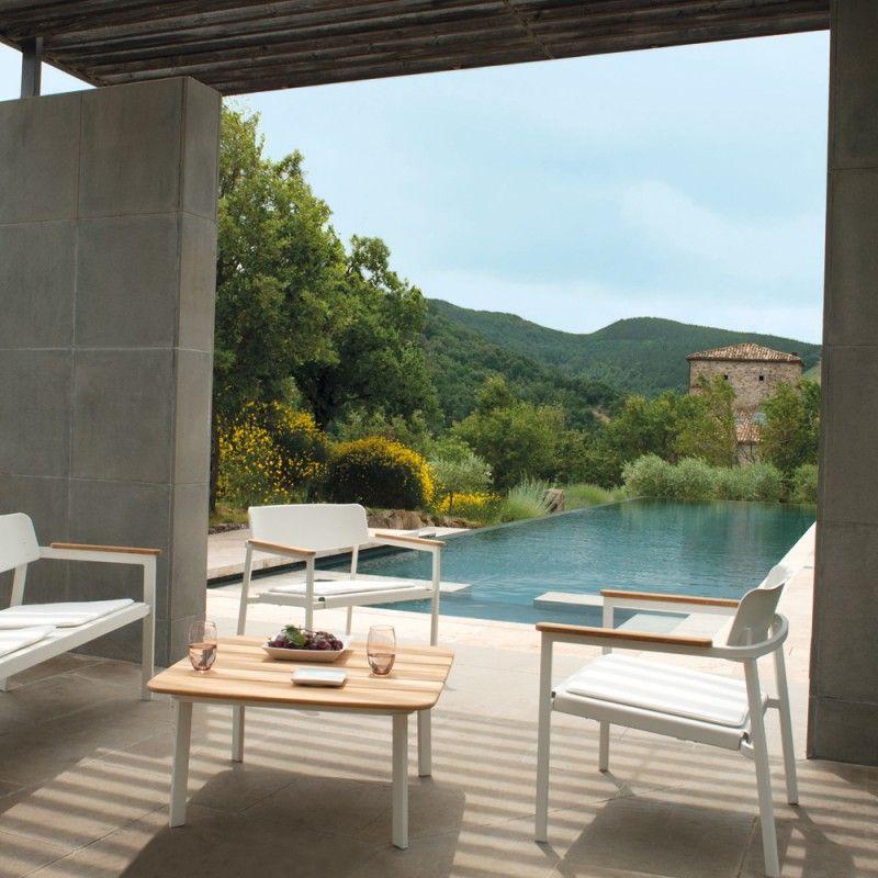 EMU Shine Loungesessel für den Outdoorbereich Gartenmöbel