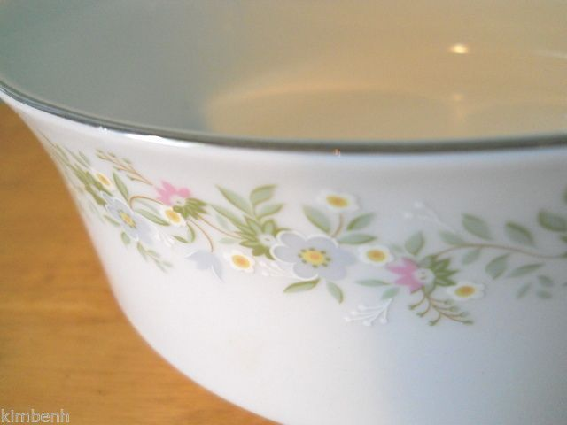 "Johann Haviland Forever Spring ""ROUND VEGETABLE DISH"" Flowers Bavaria Germany #JohannHaviland"