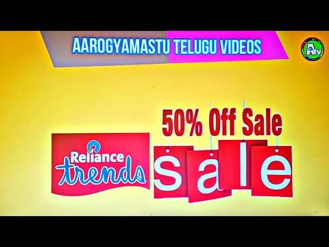 Get 50% off in Reliance Trends watch our videoShopping in Reliance  Re in 2020  Trending