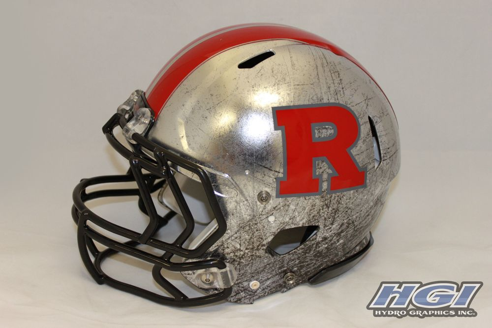 New Rutgers Scarlet Knights Helmet By Hgi Part Of Rutgers New Nike Pro Combat System Of Dress Football Helmets College Football Helmets New Football Helmet
