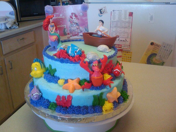 Little mermaid cake 2009