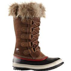 Sorel - Joan of Arctic Boot - Women's - Umber/Red Dahlia