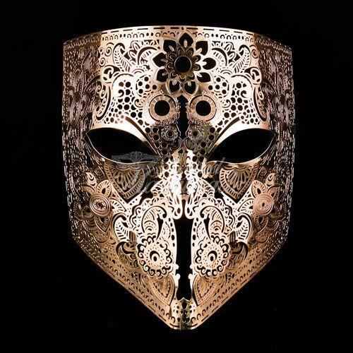 06dc1f953f Mens-Bauta-Light-Filigree-Metal-Prom-Venetian-Mardi-Gras-Masquerade ...