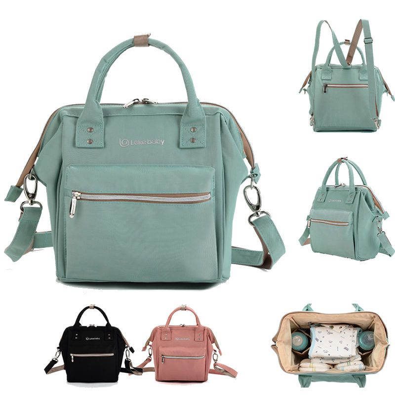 Small Convertible Water Resistant Baby Diaper Bag Backpack Crossbody Clothing Shoes Accessories Women S Handbags Bags Ebay