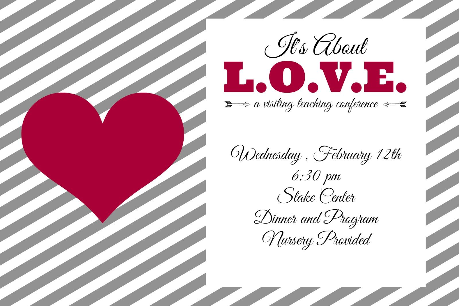 Valentine S Day Party Invitation Free Editable Download