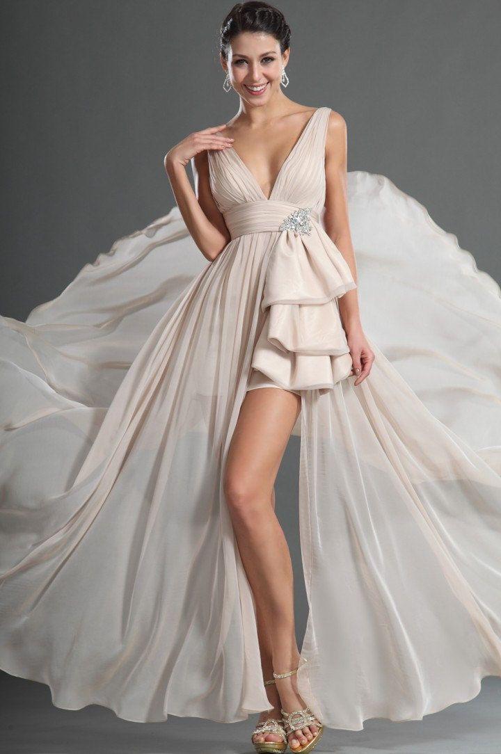 Silk Modern Wedding Dress 109900 Via EtsyAlmost Like The November Rain