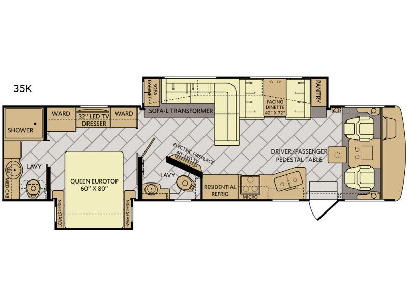 New 2018 Fleetwood Rv Southwind 35k Motor Home Class A At General Rhpinterest: Fleetwood Bounder Motorhome Floor Plans At Gmaili.net