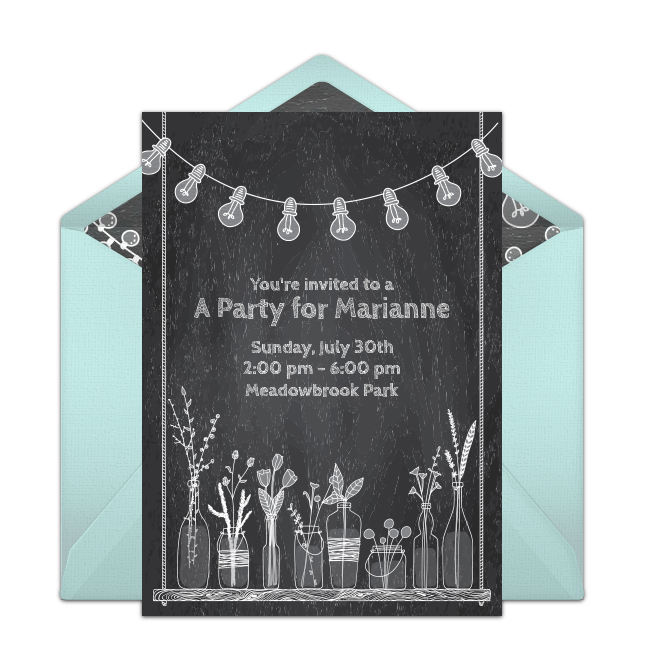 free summer party invitations