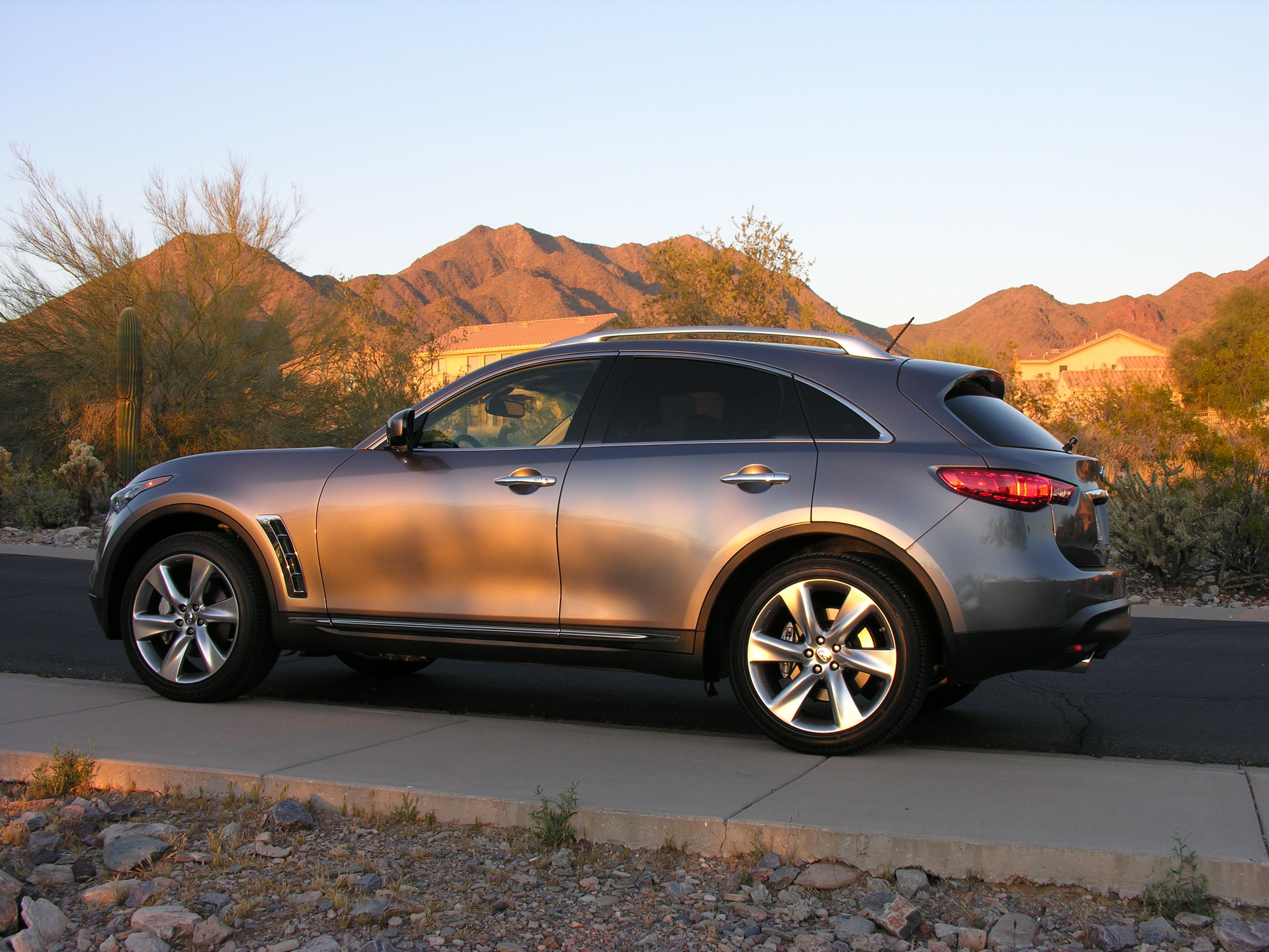they reveal all angeles from los infiniti infinity here theyre re on crossover out