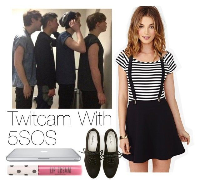 """REQUESTED Twitcam With 5SOS"" by onedirection-outfits1d ❤ liked on Polyvore featuring Nasty Gal, Topshop, women's clothing, women's fashion, women, female, woman, misses and juniors"