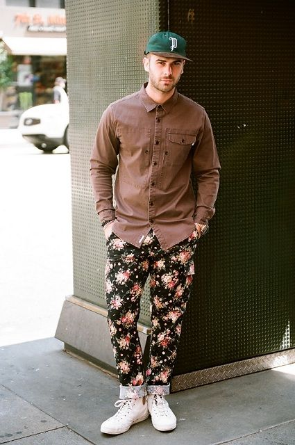 flower trouser #wewantsale #mensfashion http://www.wewantsale.nl/