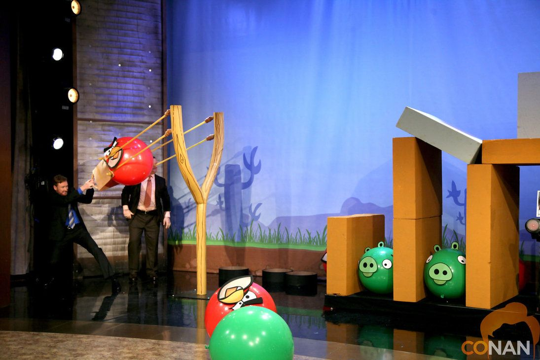 Life size angry birds | SendGrid Office Space - Wildest Dreams ...