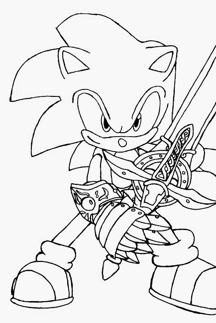 Sonic Hedgehog Coloring Book Pages Coloring Book Coloring Pages