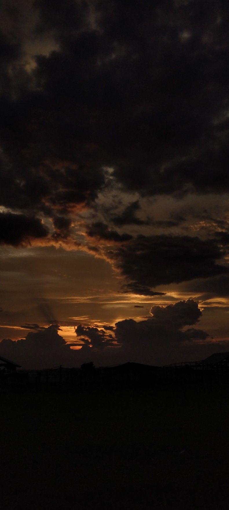 Senja Langit Sore Gelap Malam Di 2020 Pemandangan Khayalan Fotografi Alam Pemandangan