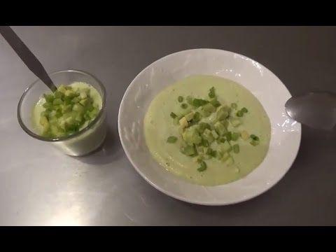 Soupe d'été au concombre (vidéo) - Veg an'bio