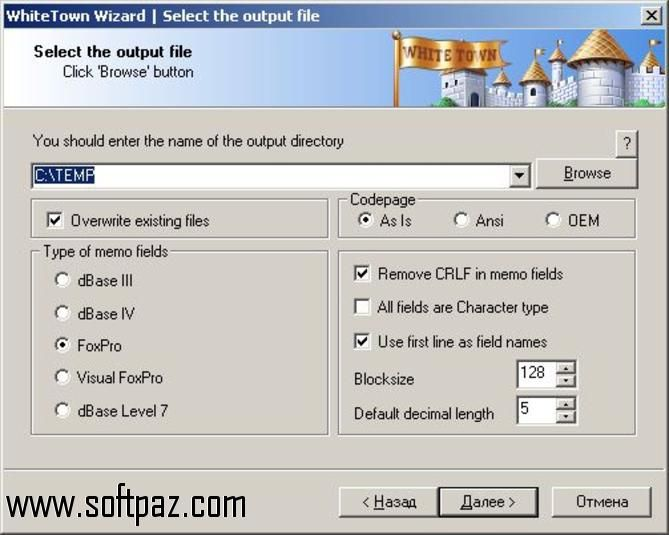 Get the DBF to XLS Converter software for windows for free download with a direct download link having resume support from Softpaz - https://i0.wp.com/www ...