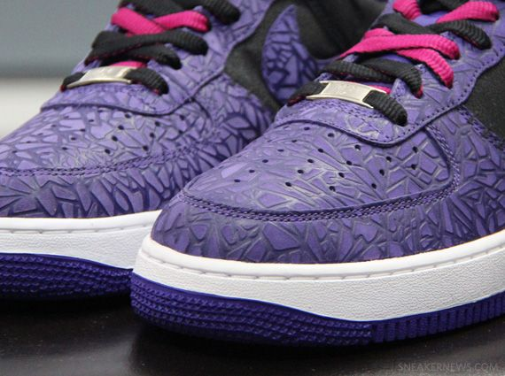 Nike Air Force 1 Low - Purple Cracked