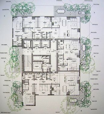Bosco verticale 7 planimetrie di case architettura for Idee architettura interni